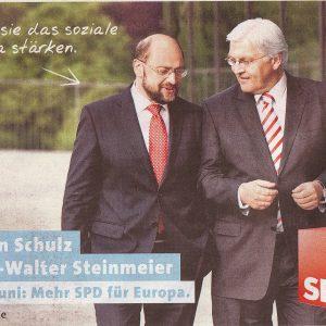 Wir wählen SPD, was denn sonst !