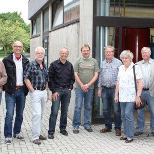 Die Fraktionsvorsitzenden der 7 Gemeinden