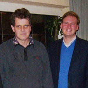 Von links: Jürgen Coße, Richard Winkelhues, Friedrich Paulsen, Reinhold Hemker