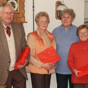 Herbert Loose, Gertrud Feldmann, Maria Ansorge, Doris Bode