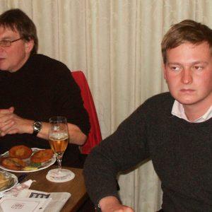 Reinhold Hemker MdB und Friedrich Paulsen (Juso-Vorsitzender)