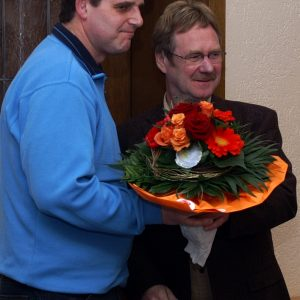 Glückwunsch zur Wahl des Ortsvereinsvorsitzenden